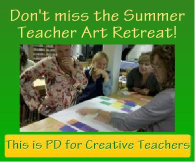 Teacher Art Retreat 2013