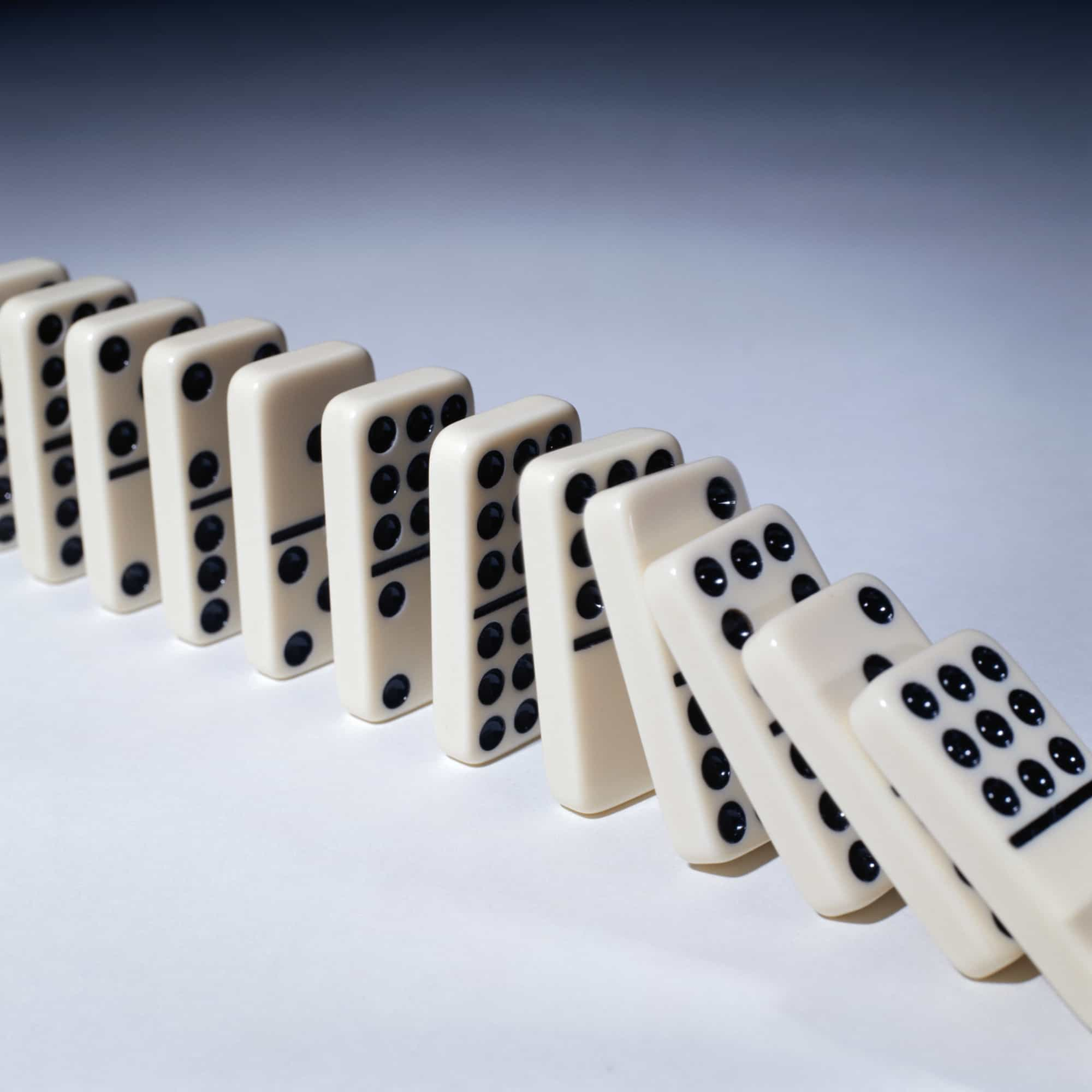 chain reaction domino effect related keywords suggestions positive domino effects