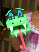 From a box to a dragon; simple to make yet a great communicator!