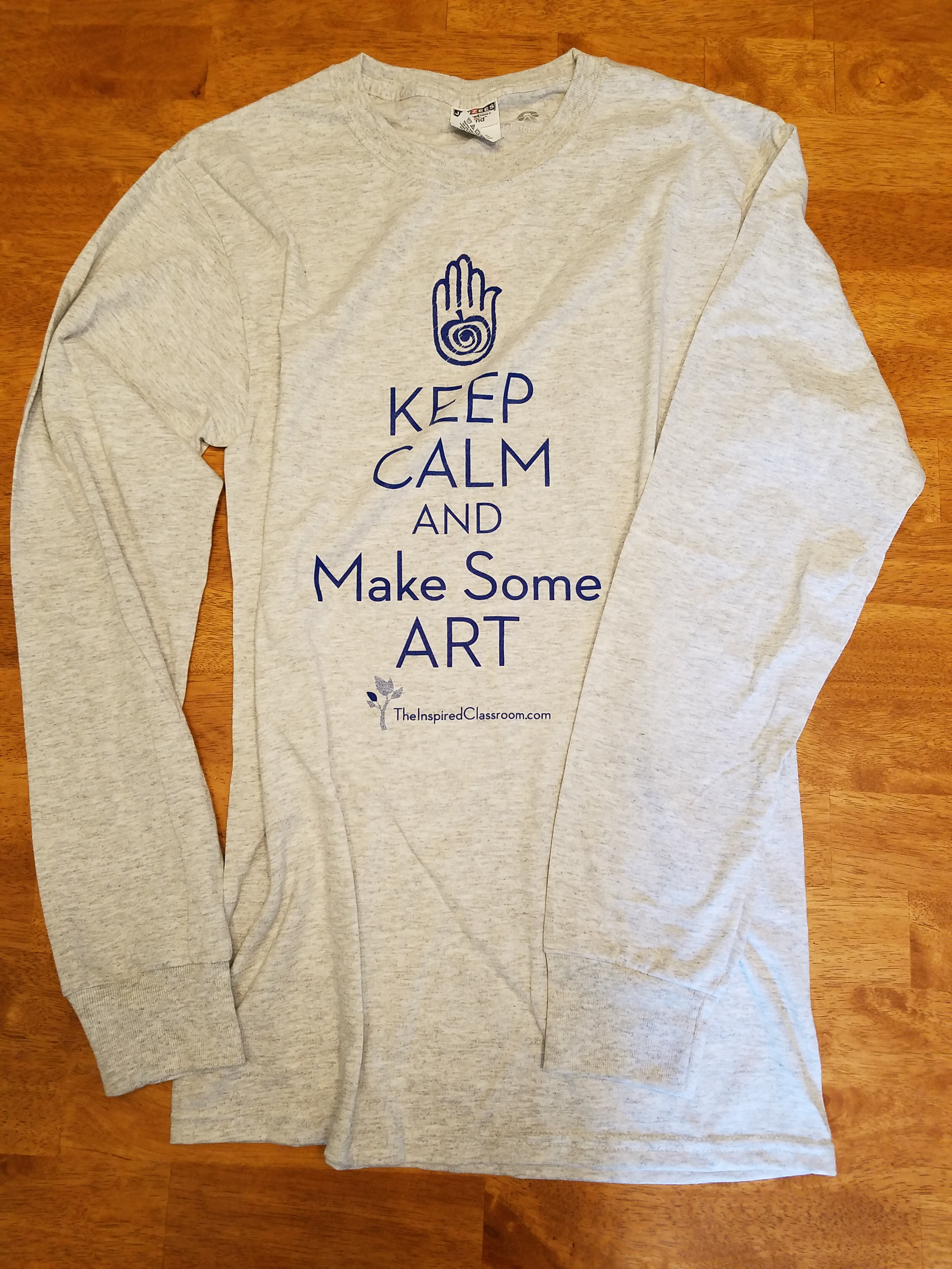 Keep Calm Long Sleeve Shirt