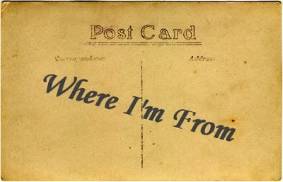 Where I'm From – Poetry Activity