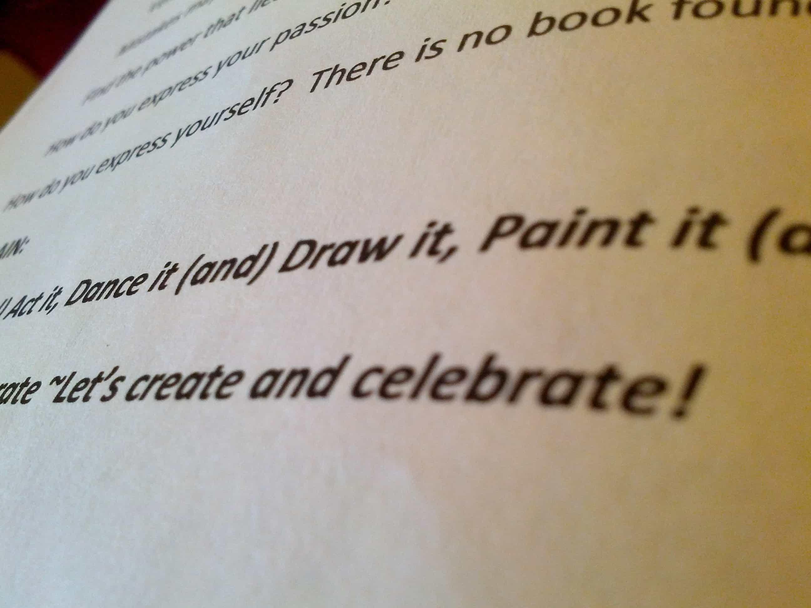 Create and Celebrate