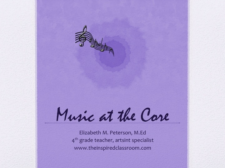 Music at the Core Resources