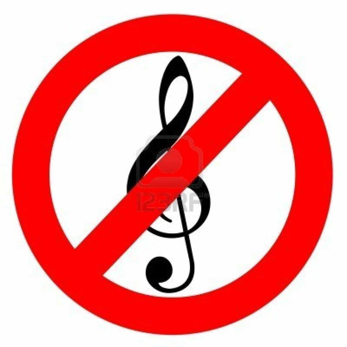 No Music!