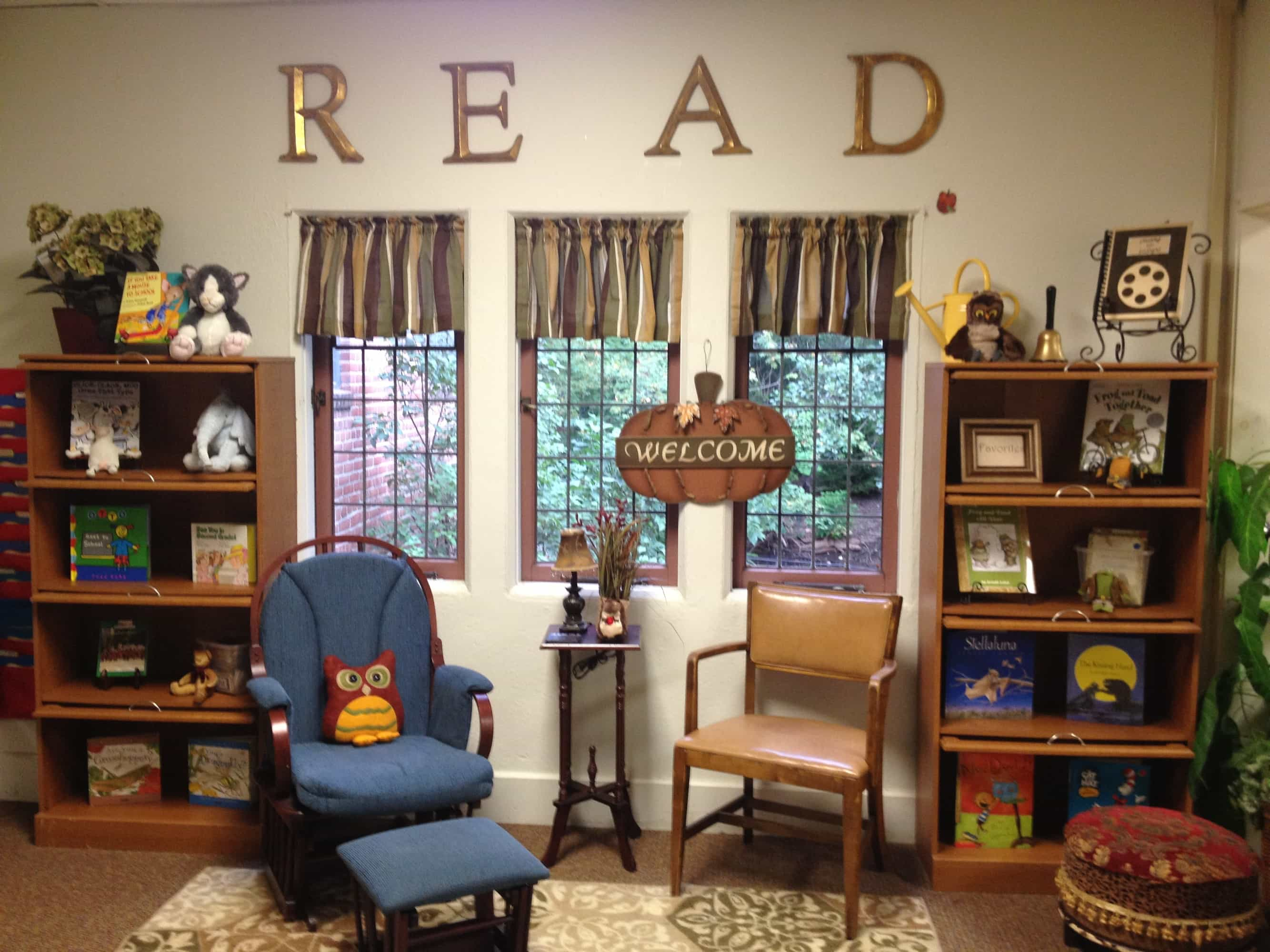 Classroom Design: A Little Like Barnes & Noble