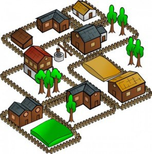 village_clip_art_16960
