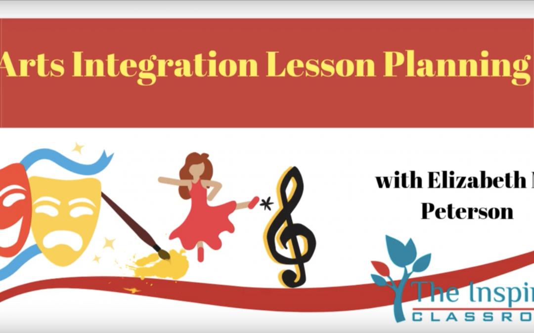 Arts Integrated Lesson Planning