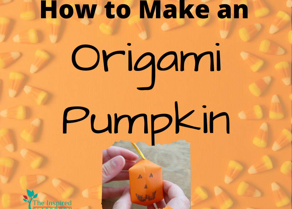 How to Make an Origami Pumpkin