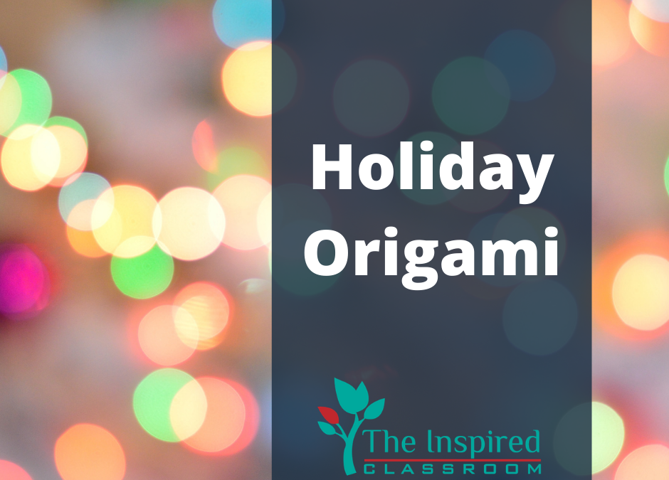 Easy Holiday Origami (How To)